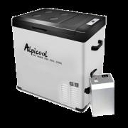 Автохолодильник компрессорный Alpicool C75 с АКБ